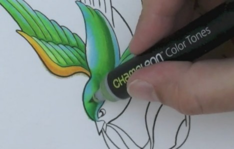 chameleon color tones blending marker