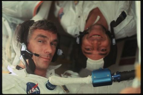 nasa candid astronauts