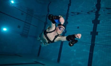 sport underwater jetpack