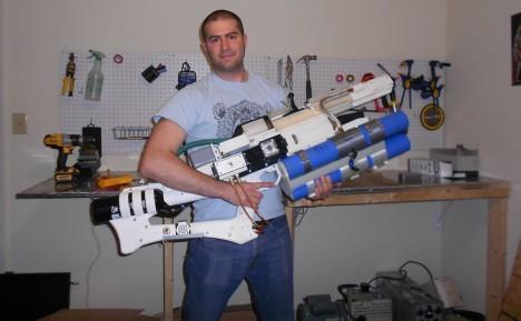 3d printed rail gun