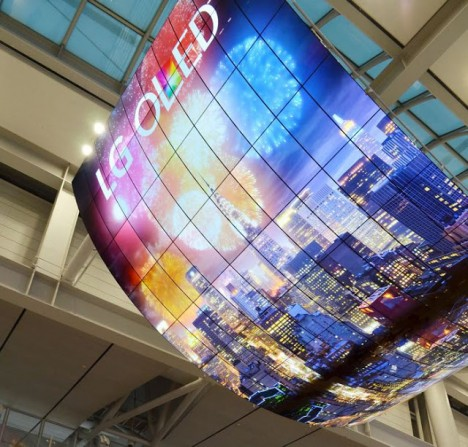 curved led panel