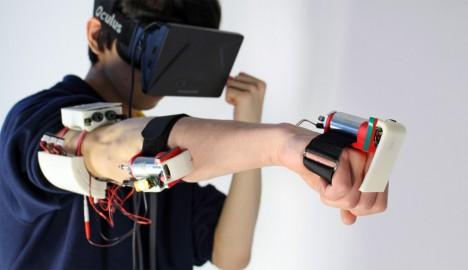 feel virtual reality