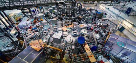fusion reactor center