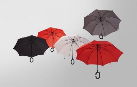 hands free umbrella for texting