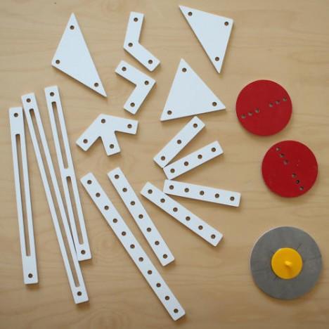 kinetic kits of parts