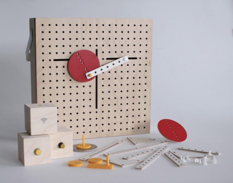 kinetic prototyping kids toy
