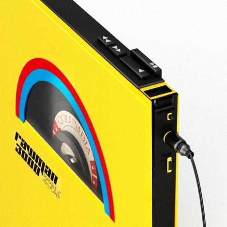 portable wearable vinyl players