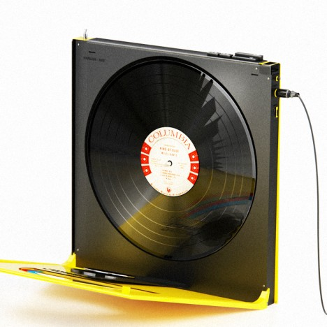 rocket and wink portable record players