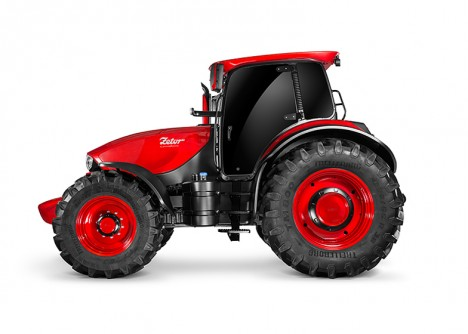 sleek tractor sports vehicle
