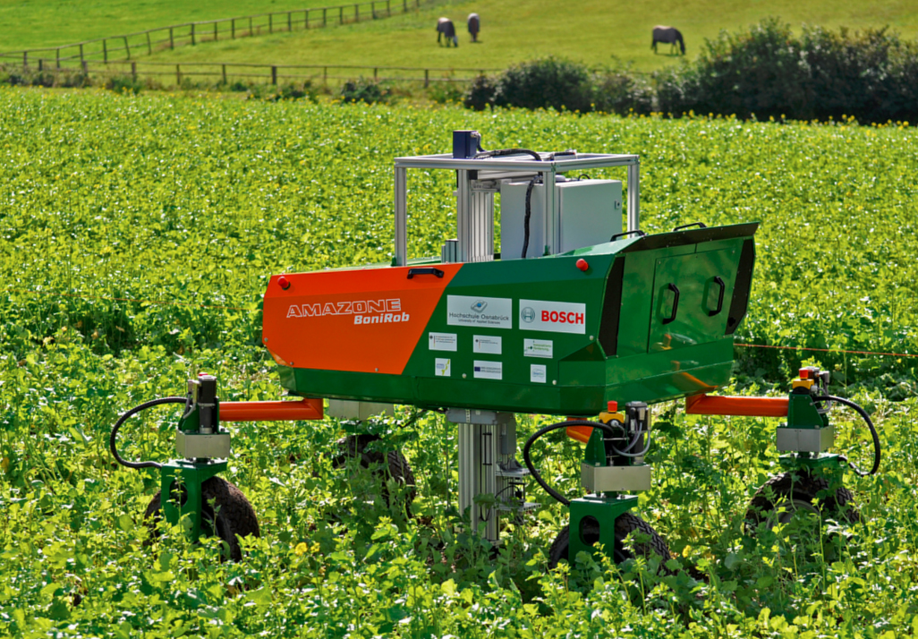 Weed Stomping Farm Robot No Harmful Pesticides Needed