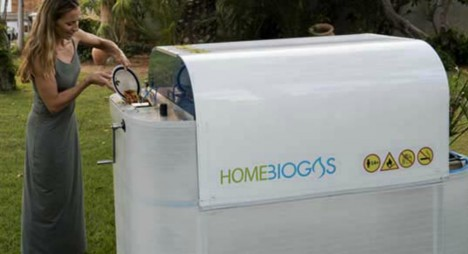 backyard biogas home device