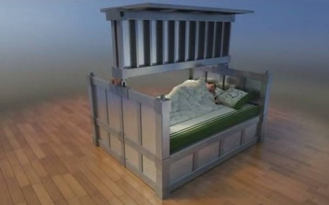 bed crypt