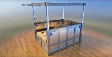 earthquake bed design