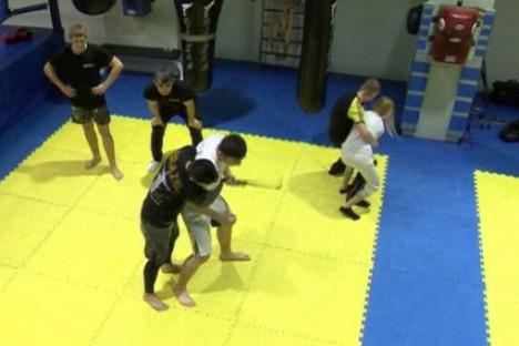 selfie stick combat training