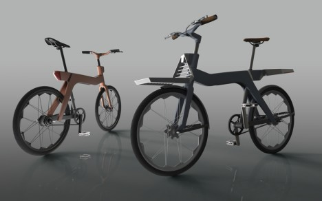 swappable parts bike