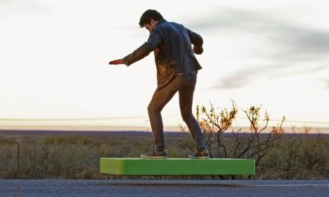 hover board in use