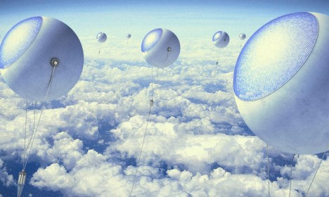 solar sky balloon farm
