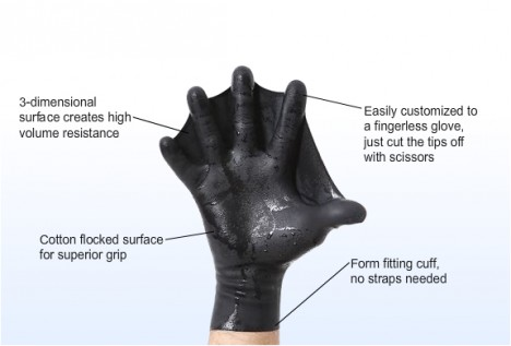 3d hand swimmers