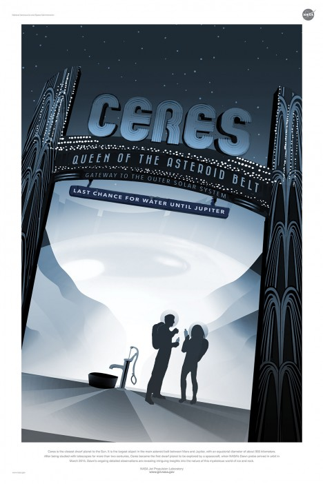ceres travel poster