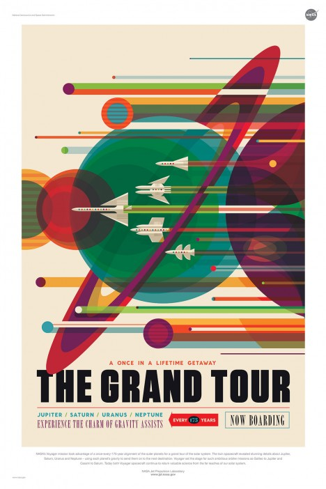 grand tour of space