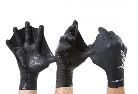 swimming hand glove