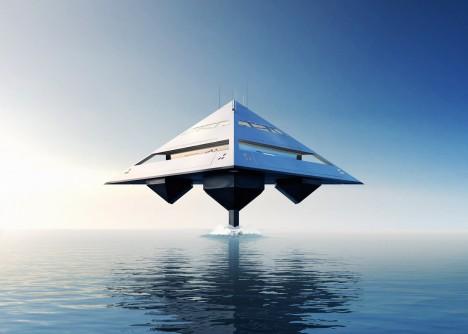 tetra yacht design concept