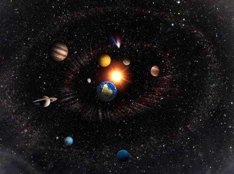universe solar system galaxy