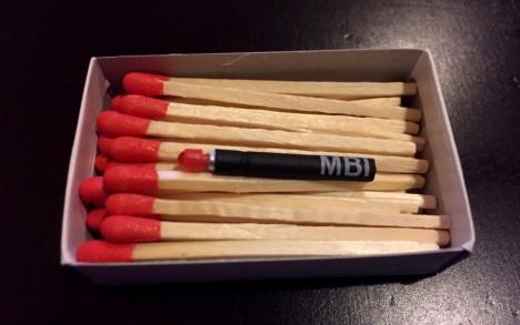 emergency light mini matchstick