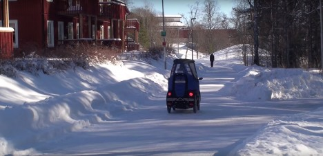 pod winter vehicle