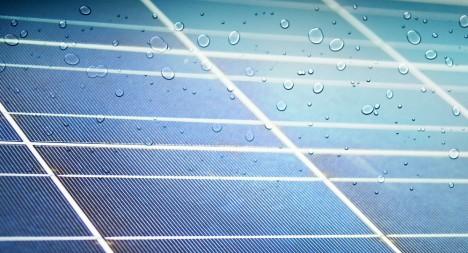 solar rain cells