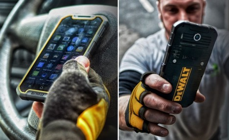 dewalt rugged phone