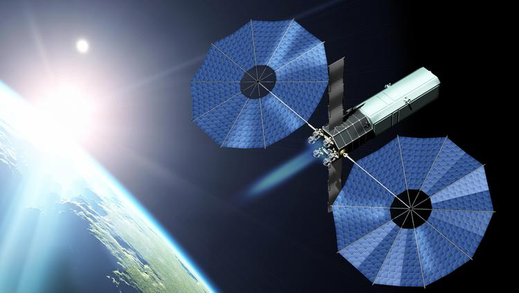 spacecraft propulsion electric - photo #31