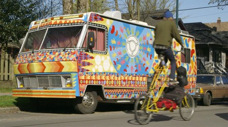 art hippy bike car