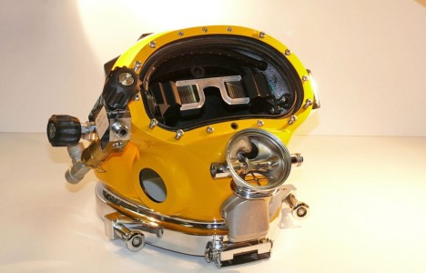 diving display mask