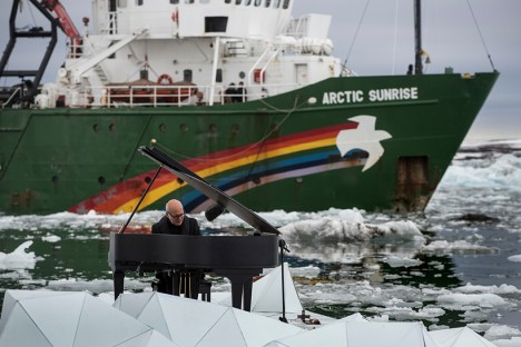 greenpeace composition pianist