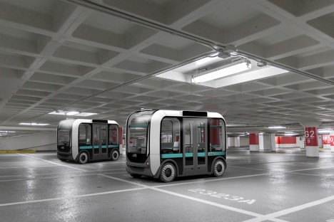 olli driverless car