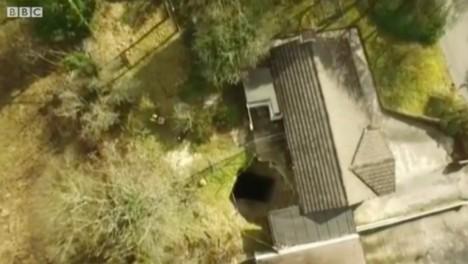 sinkhole footage
