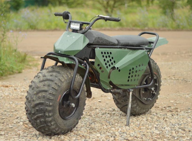 Taurus 2 215 2 Folding Motorcycle Features Two Wheel Drive
