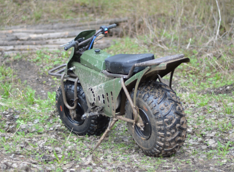 rugged 2 wheeler