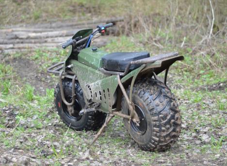 rugged 2 wheeler