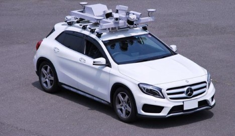 3d mapping car