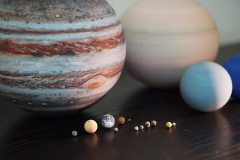 3d printed planets