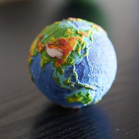detail planet