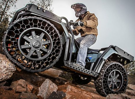 High Caliber: Rugged & Armored All-Terrain Four-Wheeler